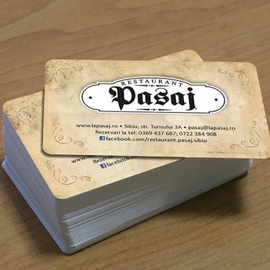 carduri, imprimari.ro, Restaurant Pasaj