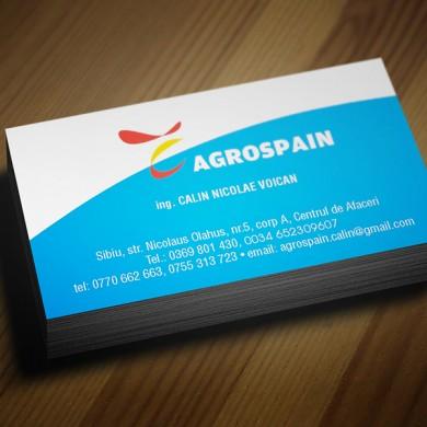 carte de vizita, imprimari.ro, Agrospain