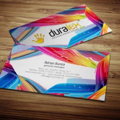 carte de vizita, imprimari.ro, Duralex