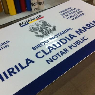 casete luminoase, imprimari.ro, Notar Public