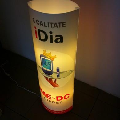 casete luminoase, imprimari.ro, iDia