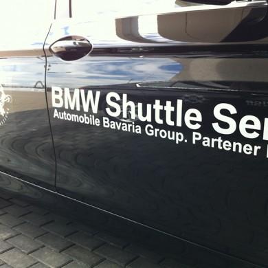 inscriptionari auto, imprimari.ro, BMW Shuttle Service TIFF Sibiu