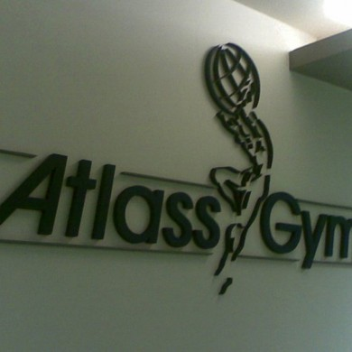 litere volumetrice polistiren, imprimari.ro, Atlass Gym