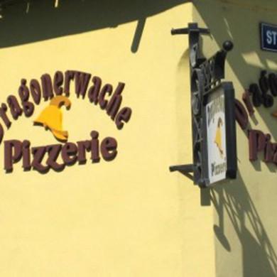litere volumetrice polistiren, imprimari.ro, Dragonerwache Pizzerie