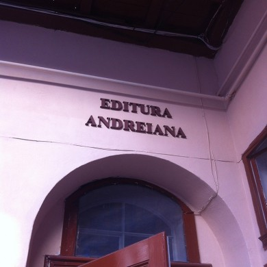 litere volumetrice polistiren, imprimari.ro, Editura Andreiana