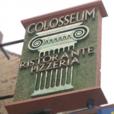 litere volumetrice polistiren, imprimari.ro, Restaurant Colosseum