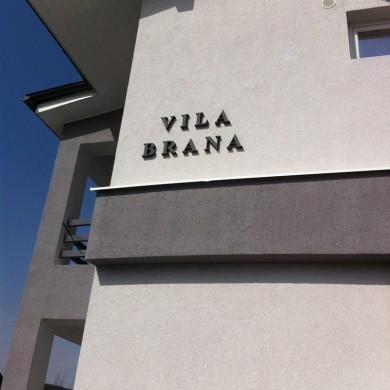 litere volumetrice polistiren, imprimari.ro, Vila Brana