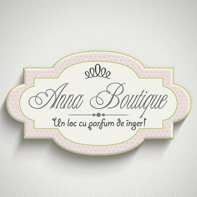 logo design, imprimari.ro, Anna Boutique