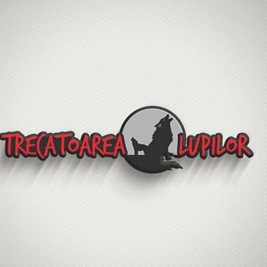 logo design, imprimari.ro, Trecatoarea Lupilor