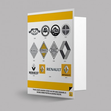 mapa de prezentare, imprimari.ro, Renault