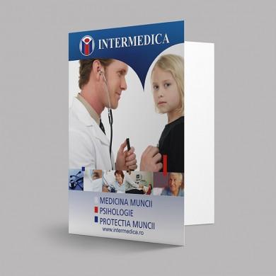 mapa de prezentare, imprimari.ro, Intermedica