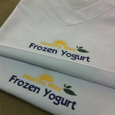 personalizari tricouri, imprimari.ro, Frozen Yogurt