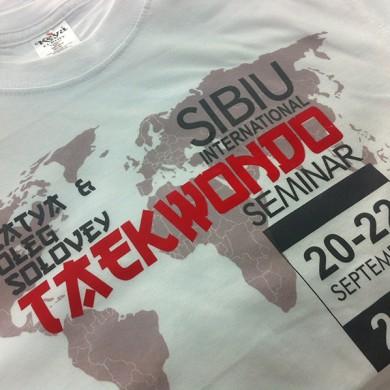 Personalizari tricouri, imprimari.ro, TaekWondo