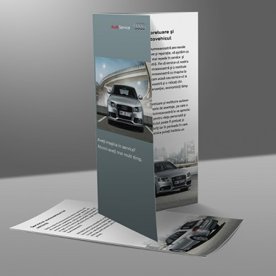 pliante, imprimari.ro, Audi