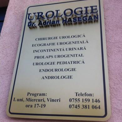 Panou Semnalistica, Panouri Indicatoare,Imprimari, Print,Design,Firme si Reclame,Cabinet Urologie