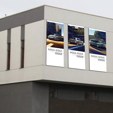 bannere, imprimari.ro, Volkswagen Golf