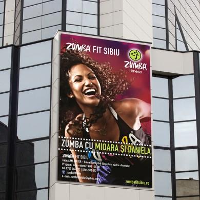 bannere, imprimari.ro, Zumba