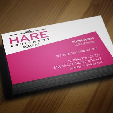 carte de vizita, imprimari.ro, Hare