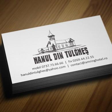 carte de vizita, imprimari.ro, Hanul din Tulghes