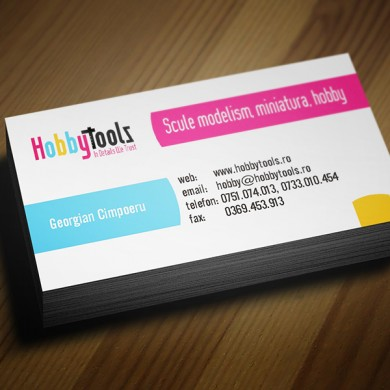 carte de vizita, imprimari.ro, HobbyTools