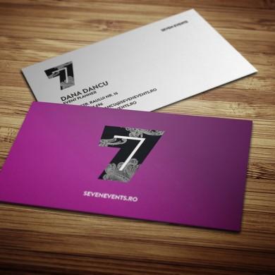carte de vizita, imprimari.ro, sevenevents
