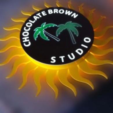 casete luminoase, imprimari.ro, Chocolate Brown
