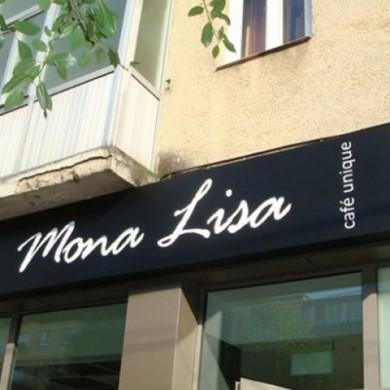 casete luminoase, imprimari.ro, Mona Lisa Cafe