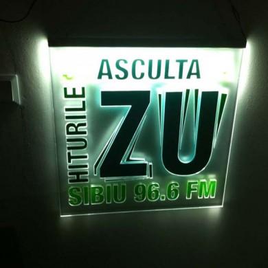 casete luminoase, imprimari.ro, Radio Zu