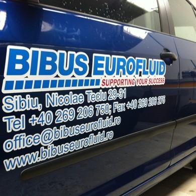 inscriptionari auto, imprimari.ro, Bibus Eurofluid