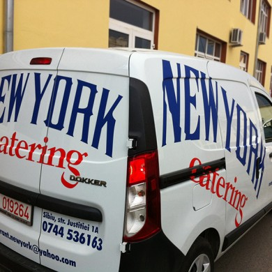 inscriptionari auto, imprimari.ro, Restaurant New York catering