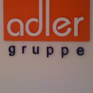 litere volumetrice polistiren, imprimari.ro, Adler gruppe