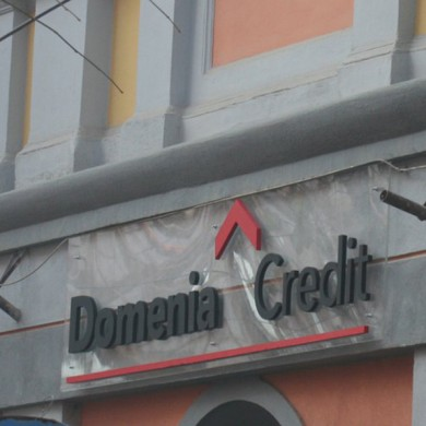 litere volumetrice polistiren, imprimari.ro, Domenia Credit