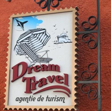 litere volumetrice polistiren, imprimari.ro, Dream Travel