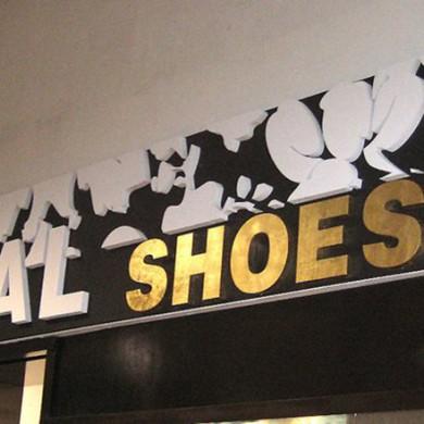 litere volumetrice polistiren, imprimari.ro, Total Shoes