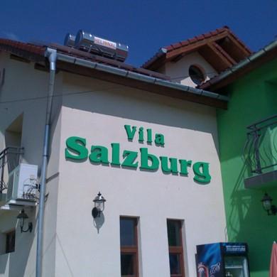 litere volumetrice polistiren, imprimari.ro, Vila Salzburg