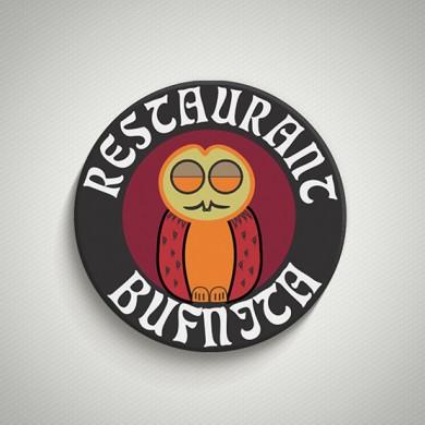 logo design, imprimari.ro, Restaurant Bufnita