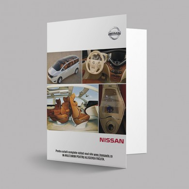 mapa de prezentare, imprimari.ro, Nissan