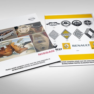 mapa de prezentare, imprimari.ro, Nissan, Renault