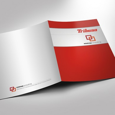 mapa de prezentare, imprimari.ro, Tribuna