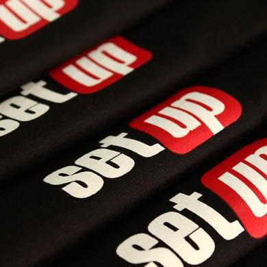 personalizari tricouri, imprimari.ro, set up